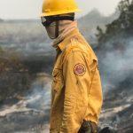 Ampara Silvestre em ação contra área queimada: Crédito Pedro Becker