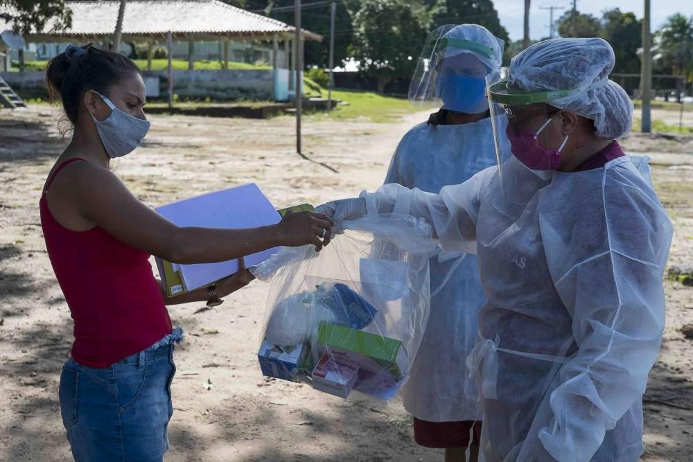 Ação FAS durante pandemia Crédito: FAS