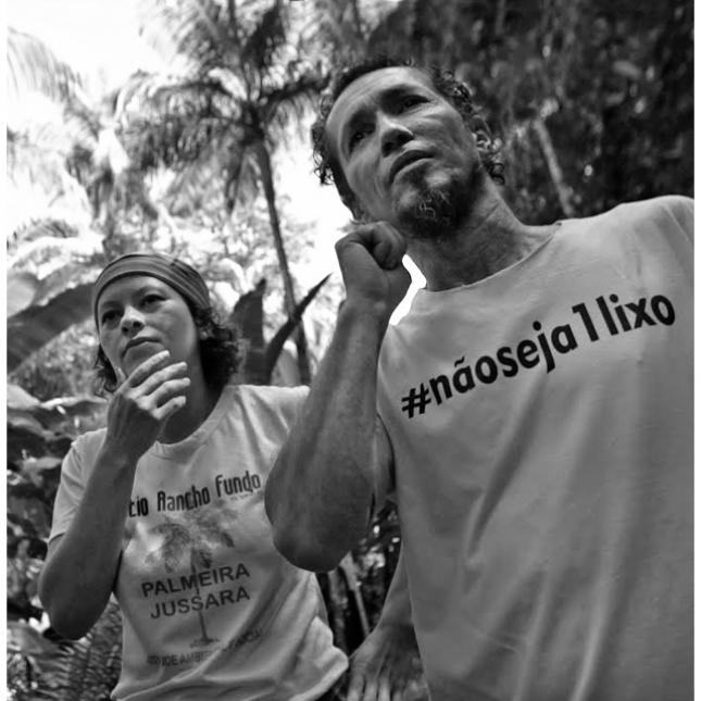 O casal Viviane e Emerson Miranda investe em palmeira juçara. Crédito: WRI Brasil.