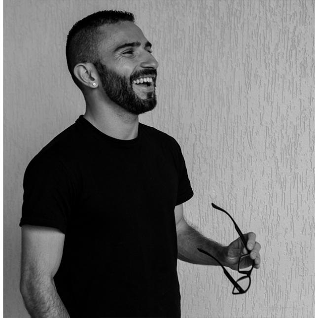 Jonas Guerra, Designer. Crédito: Arquivo Pessoal