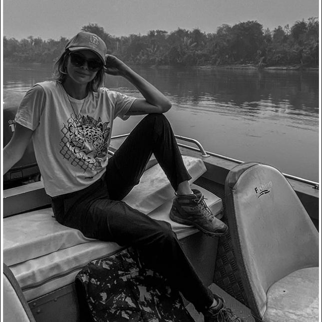 Marcele Becker, uma das donas da ONG Ampara Silvestre